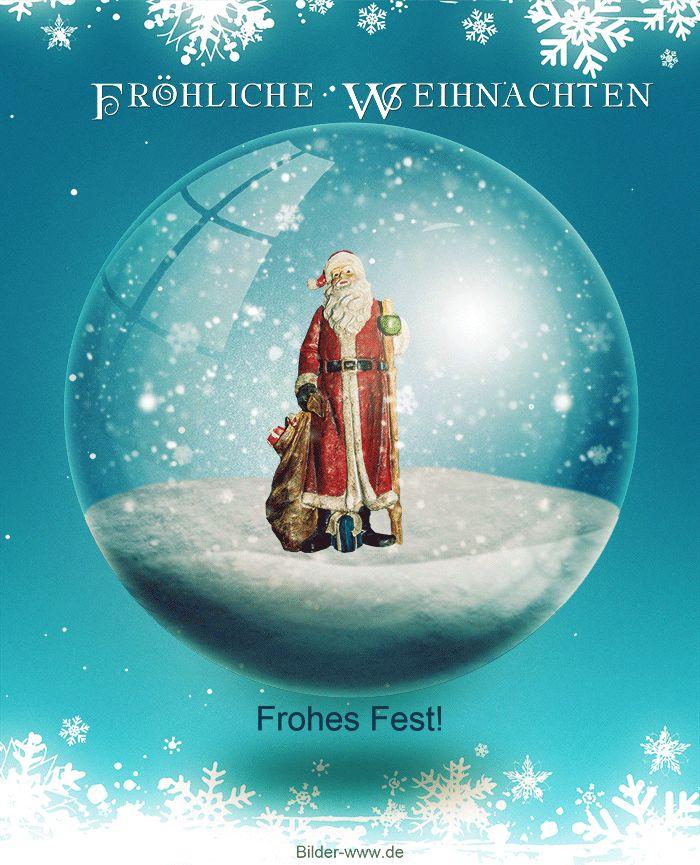 Frohe Weihnachten - http://bilder-www.de/frohe-weihnachten/