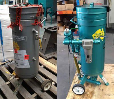 ABSS - Abrasive Blasting refurbishing