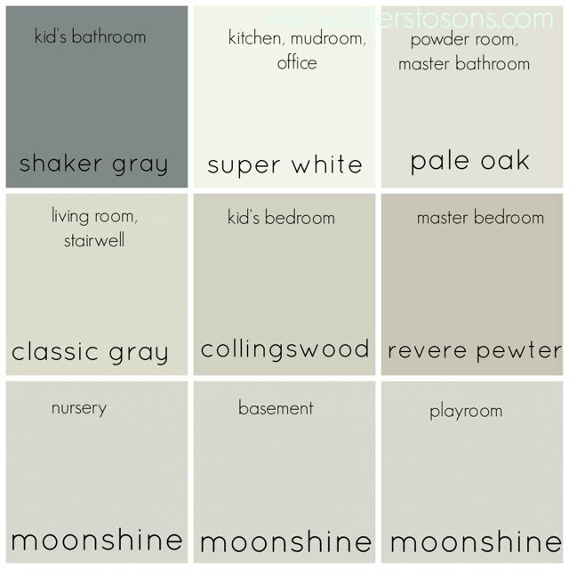 17 best ideas about benjamin moore moonshine on pinterest - Most popular benjamin moore exterior paint colors concept ...