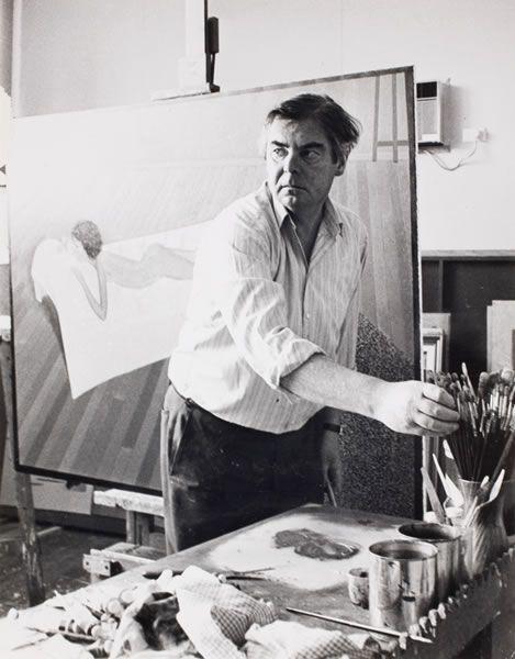 John Brack, born 1920 (Zurich), died Melbourne 1999.