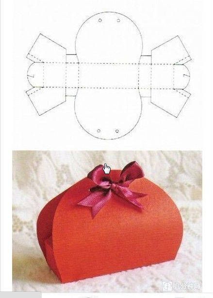 Diagrams For Gift Boxes  Homemade Gift Boxes Templates