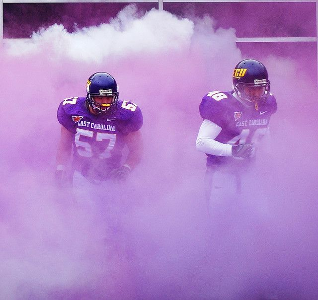 ECU Football by sumonicus, via Flickr