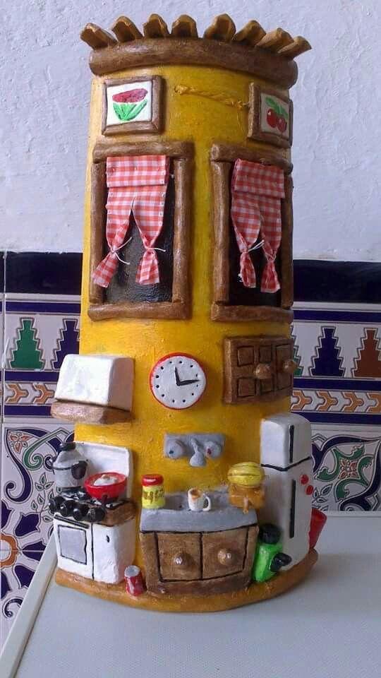 Tejs decorada cocina