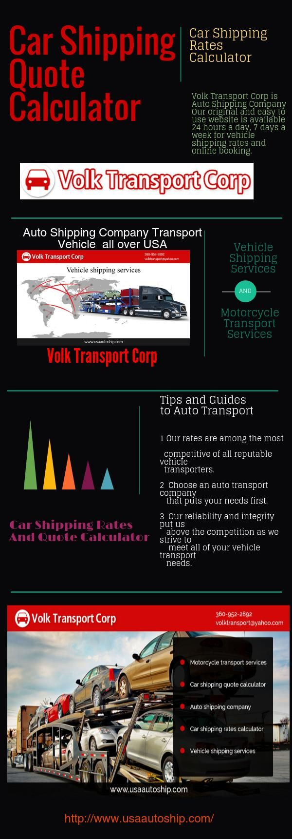 Vehicle Transport Quote Usaautoship Transport Usaautoship's Ideas On Pinterest