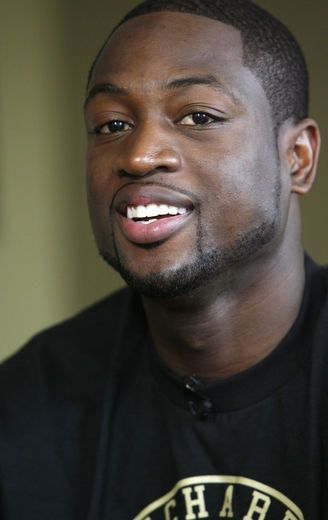 Dwyane Wade! Best basketball player ever:) love him!