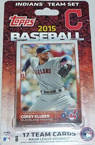 2015 Topps Cleveland Indians Factory Sealed Special Edition 17 Card Team Set with Nick Swisher Plus  This is a 2015 Topps Cleveland Indians Factory sealed special edition 17 card team set; cards are numbered CL-1 through CL-17 and are not available in packs. Players included are Corey Kluber, Trevor Bauer, Michael Bourn, Lonnie Chisenhall, Cody Allen, David Murphy, Carlos Santana, Jason Kipnis, Yan Gomes, Jose Ramirez, Michael Brantley, Brandon Moss, Nick Swisher, Ryan Raburn, Carlos C...