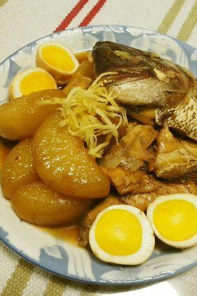大根と魚のあらで煮物 by のんたん2013 [クックパッド] 簡単 ...