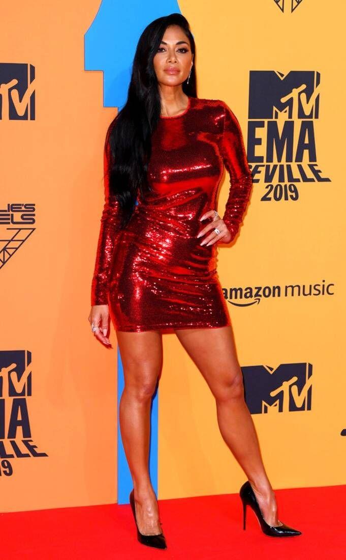 Photos From 2019 Mtv Emas Red Carpet Fashion E Online Nicole Scherzinger Body Nicole Scherzinger Nicole Scherzinger Style