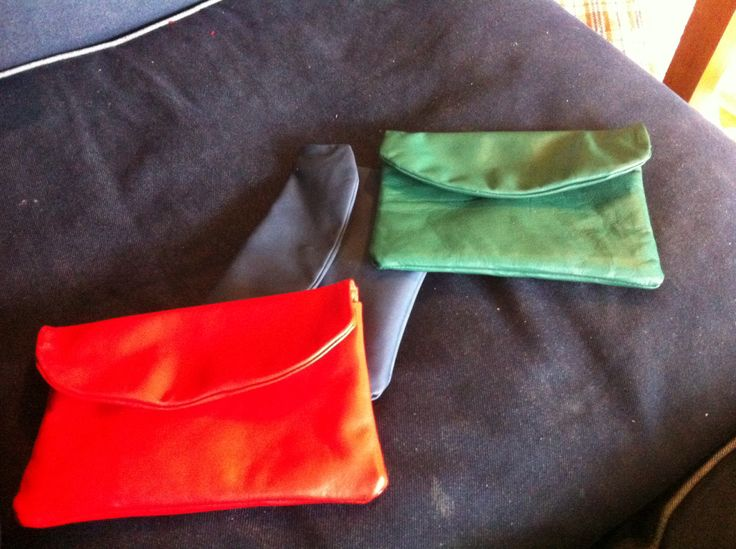 Beauty leather clutches by hunter & eve - www.hunterandeve.com