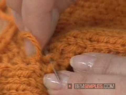 Como montar roupas feitas de tricô? - YouTube