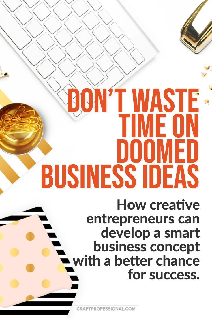How To Develop Winning Business Ideas Craft Business Selling Crafts Online Creative Business