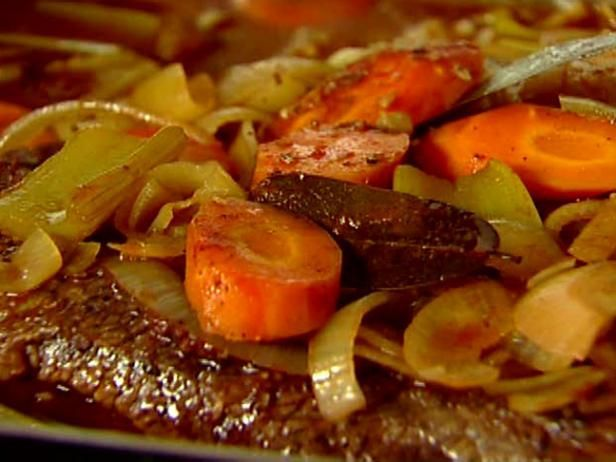 Get Ina Garten's Brisket with Carrots and Onions Recipe from Food Network