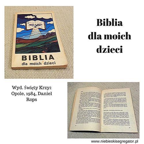 Niebieski Segregator - Biblia dla moich dzieci