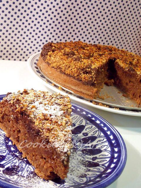 Kέικ με βρώμη, κομμάτια σοκολάτας