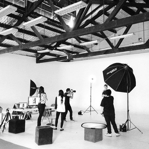 Location: Behind The Scenes, Melbourne SuperStudio | Designer: Natasha Fagg | Photographer: Kristian Dowling | Stylist: Seam Lam, Paris is Patient | Hair/MUA: Danielle Murrihy | Model: Fiona and Paris, Giant Management (3.12.12)