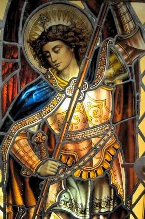 "Archangel Michael is known in Christian, Jewish and Islamic tradition and scripture as the greatest and most revered of angels. The Book of Daniel describes Michael as ""the great prince which standeth for the children of thy people."""