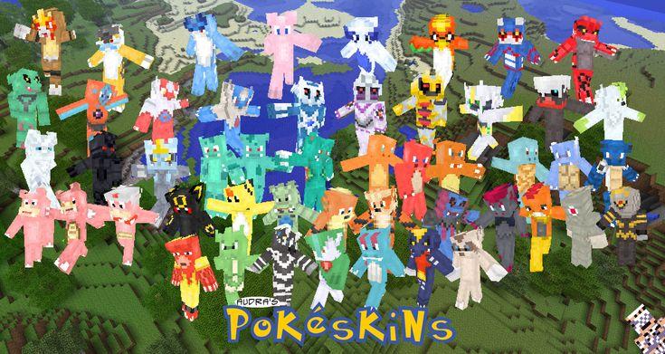 Pokemon - Minecraft Skins | Minecraft Hub
