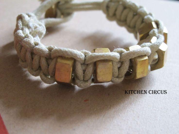 hex nut jewelry | DIY: Hex nut bracelet ou le bracelet à écrous dans DIY img_3708