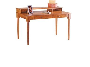 Shop for Gat Creek Harvard Desk, 73130, and other Home Office Desks at Hickory Furniture Mart in Hickory, NC. Because most home office units just look too boxy and corporate to us, we wanted something light and graceful for the home - something elegant enough that didn't need to go into a corner or back room.