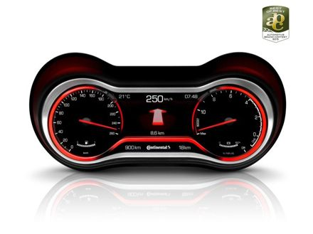 """Continental Corporation -Design Prize: German Design Council Awards Continental Hybrid Instrument Cluster with """"Best of Best"""" Award"""