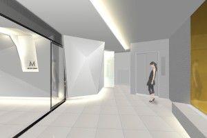 マンション共用エントランス、Evホールの改装
