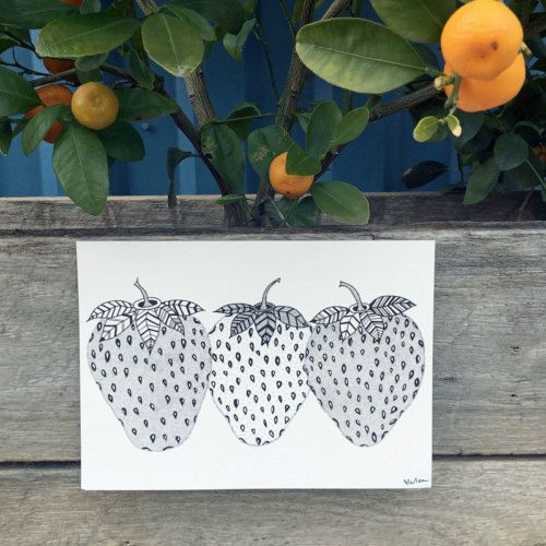 Strawberries - illustration