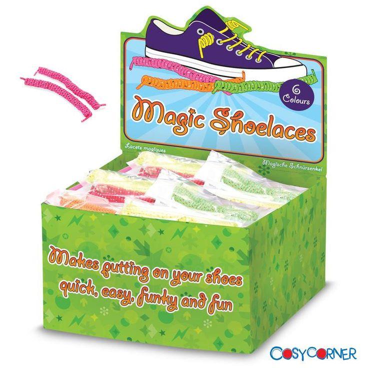 Μαγικά Κορδόνια για Παπούτσια - Τα κορδόνια που δεν χρειάζονται δέσιμο. Μόλις τα περάσετε στα παπούτσια, απλά τραβήξτε τα κορδόνια όσο σφιχτά επιθυμείτε. Τόσο απλά, χωρίς καμία περαιτέρω ενέργεια! http://bit.ly/1ukekVl