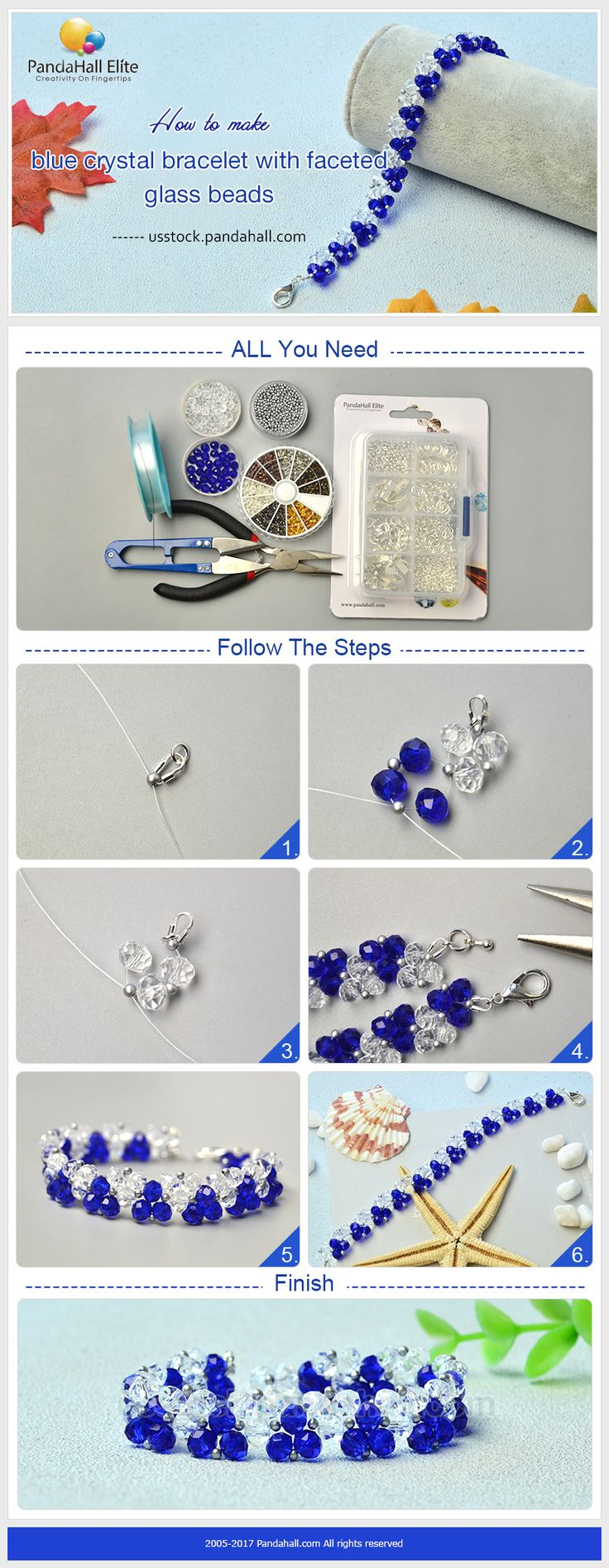 with eye pandahall crystals tutorial glass watch video beads jewelry for bracelet blue youtube earrings cat and making bead