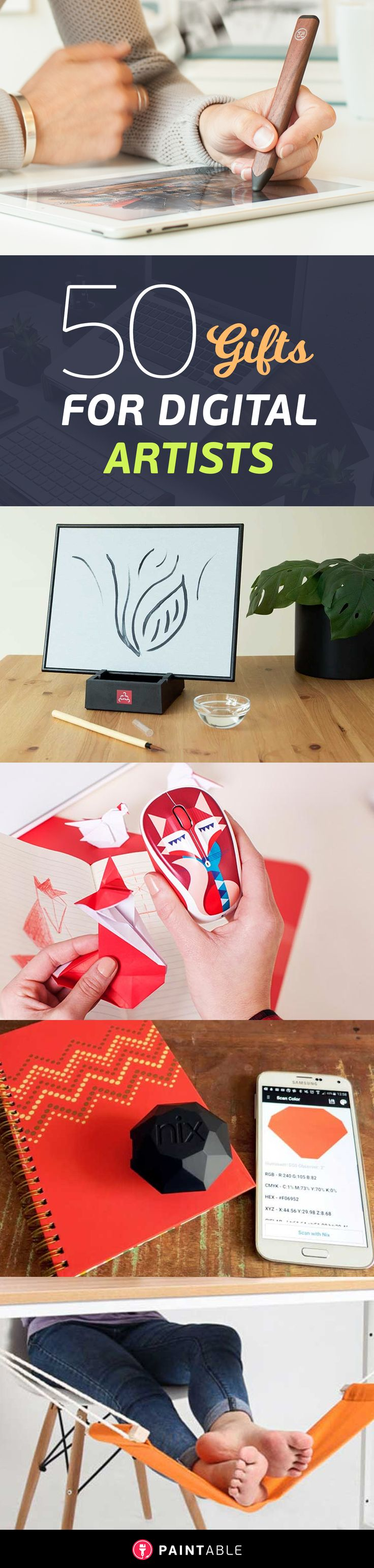 50 wonderfully creative gifts for digital artists gifts