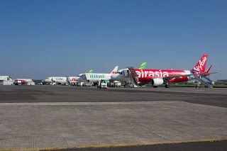Apron Husein Sastranegara International Airport, Bandung Jawa Barat - Indonesia