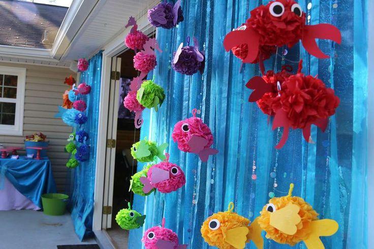 Decoración de fiesta con tema marino13