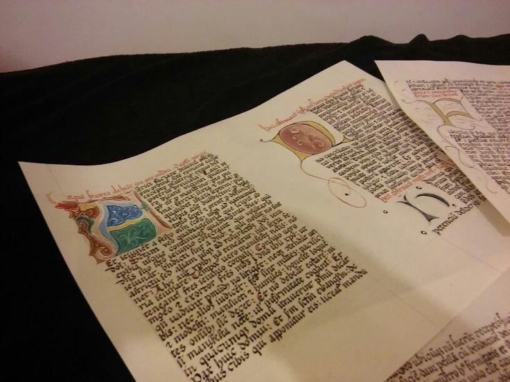 Codex on parchment...