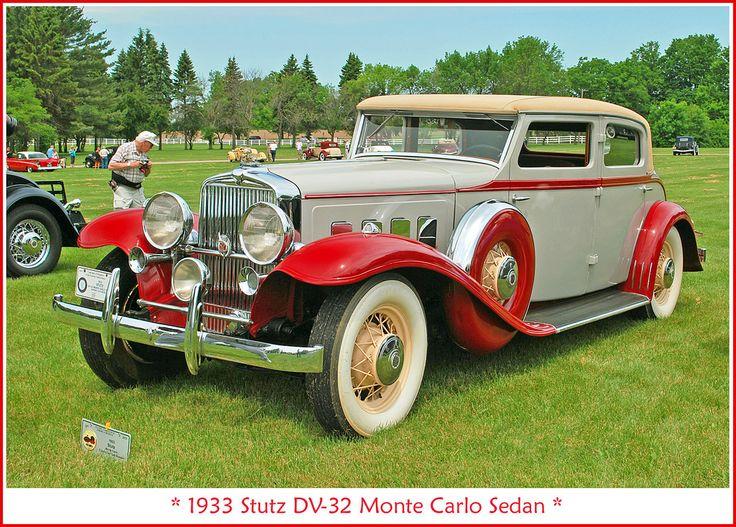 1933 Stutz Monte Carlo Sedan