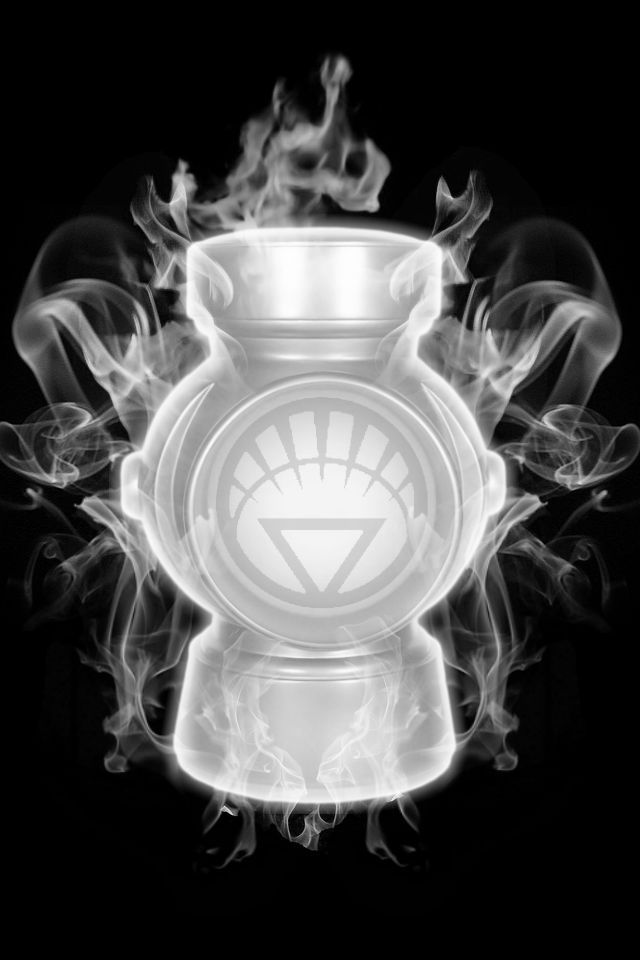 Firey White Lantern Battery by KalEl7.deviantart.com on @deviantART