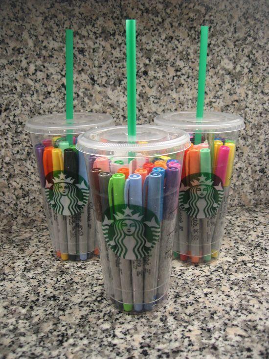 13 Regalos que puedes hacer reutilizando tus vasos de Starbucks