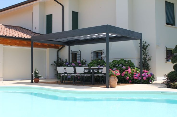 Pergola bioclimatique autoport e five stars italy for Pergola bioclimatique corse