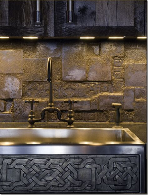 Gerard Butleru0027s Loft, As Pictured In Architectural Digest I Love The Celtic  Knot Work