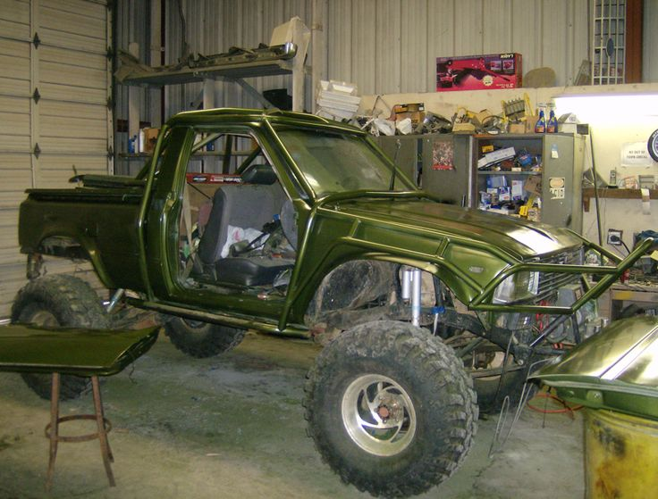 Nor cal rock racing custom built rock crawler by fxp flex - Interior roll cage for toyota pickup ...
