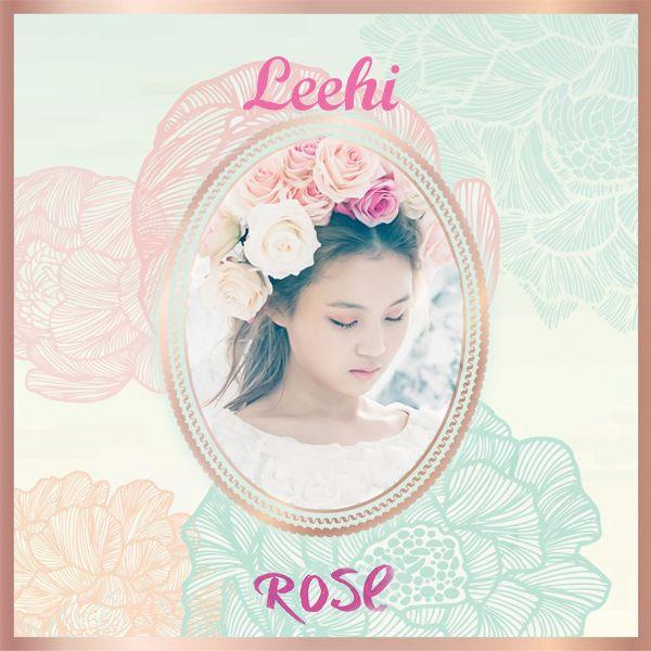 Book Of Love Album Cover : Lee hi rose album cover by omgkpop viantart on