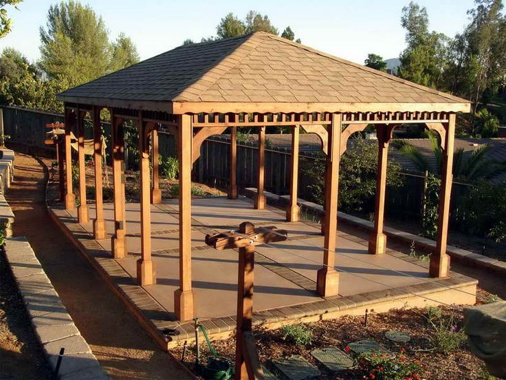 17 best images about build a strong and beautiful gazebo for Home hardware gazebo plans