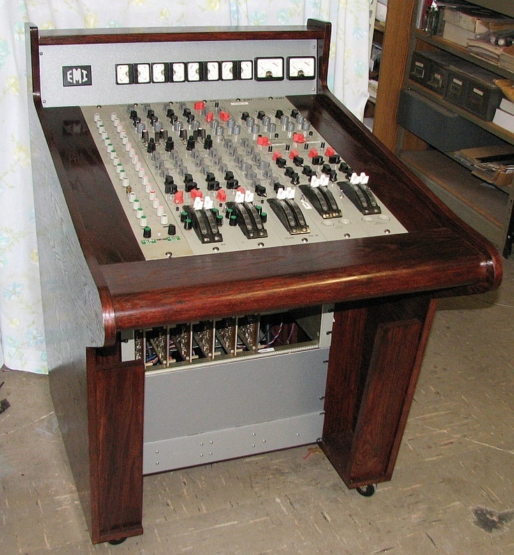 57 Best Production Gear Images On Pinterest: Vintage EMI TG12345 MKIII Console Side Car Mixer All