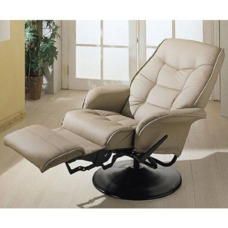 Amazon.com: New Tan RV Motorhome Swivel Recliner Captians Chair: Furniture & Decor