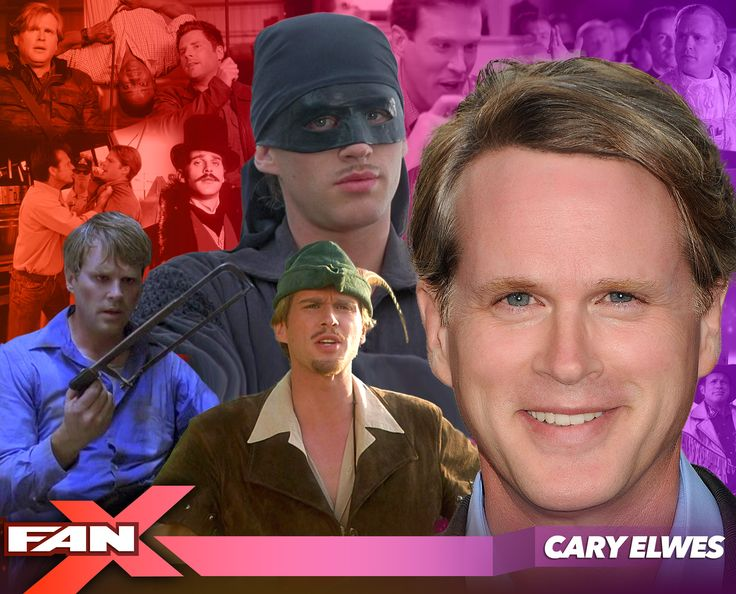 Meet actor and con alum Cary Elwes at #FANX17! Known for roles in The Princess Bride, Robin Hood: Men in Tights, Saw, and more! #utah