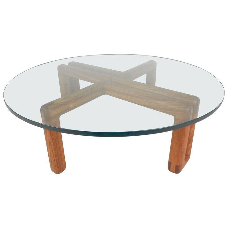 Ikea Mid Century Modern Coffee Table: Best 25+ Round Glass Coffee Table Ideas On Pinterest