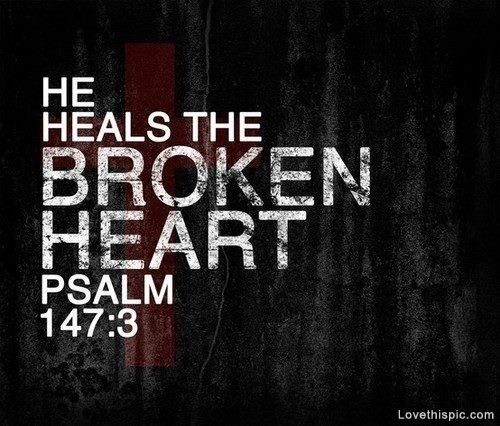 Sad Quotes About Depression: God Can Heal A Broken Heart Quotes. QuotesGram