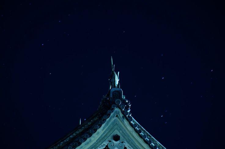 松本城のてっぺん