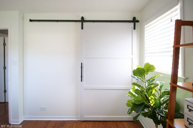 This is 3 post series on how to Build and Hang a DIY Build Door on a Budget. If you're looking to DIY your own barn door, don't miss these rookie tips!