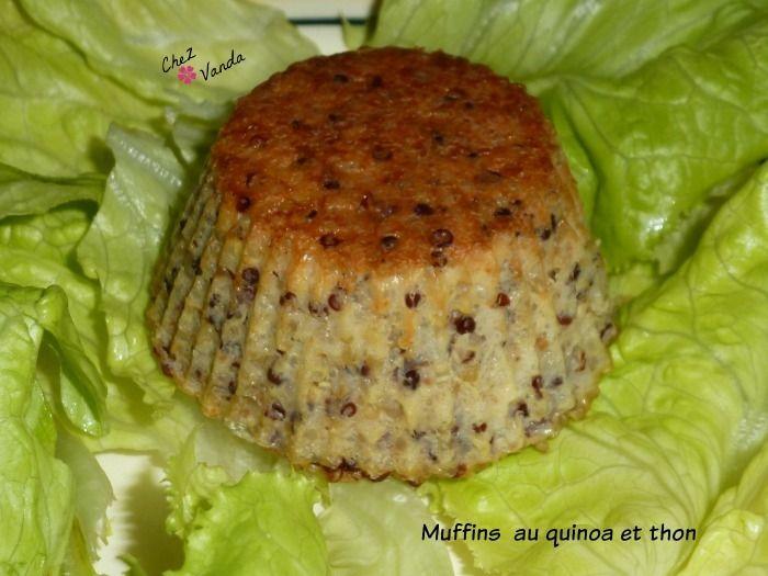 Muffins au quinoa et thon