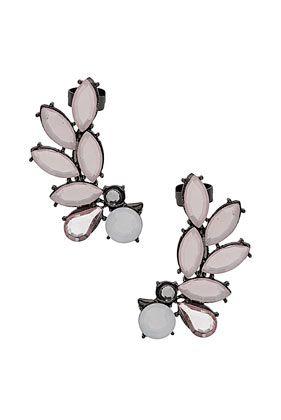 Spray Leaf Ear Cuffs: Earrings Cuffs, Fashion Style, Leaf Ears, Topshop Earcuff, Sprays Leaf, Ear Cuffs, Accessories, Gemstone Ears, Ears Cuffs