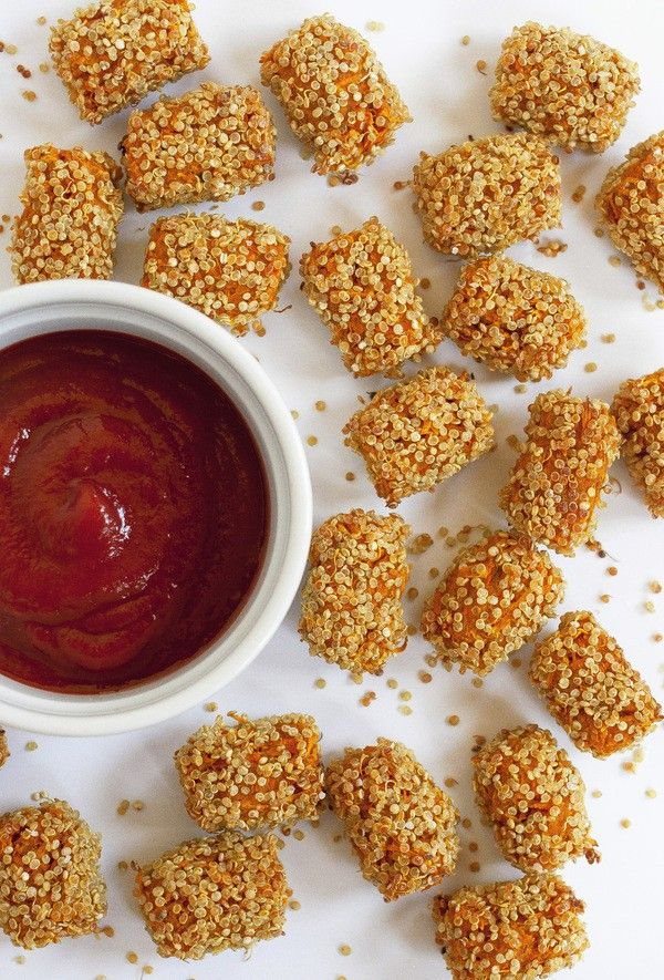 Crispy Baked Sweet Tater Tots | Hellobee